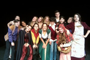 "Cast of ACE Summer Theater's ""Into The Woods"""