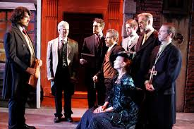 Cast of Jekyll & Hyde at DOMA Theater
